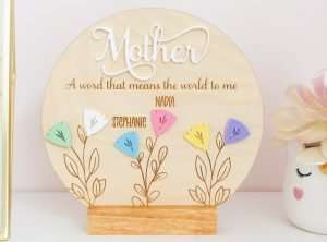 Personalized Mother's Day Frame
