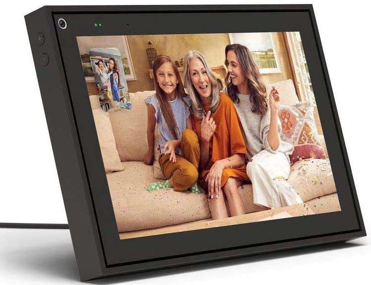 """Smart Video Calling 10"""" Touch Screen Display with Alexa"""