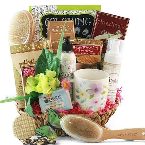 Stress Buster Spa Gift Basket