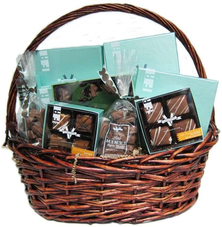 V Chocolates V Generous Basket