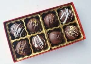 Vegan Chocolate Truffles for Mom