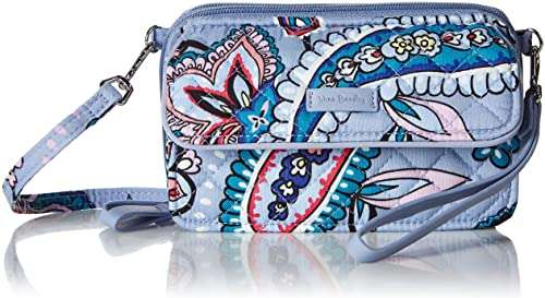 Vera Bradley All in One Crossbody Purse with RFID Protection