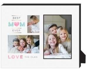 Watercolor Mom Collage Personalized Frame