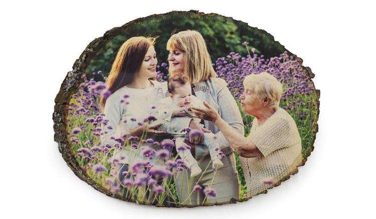 Wood Mother's Day Frame
