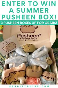 Enter to win a summer pusheen box