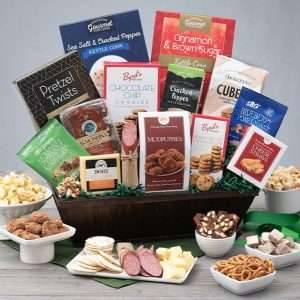 Father's Day Snack and Chocolate Gift Hamper