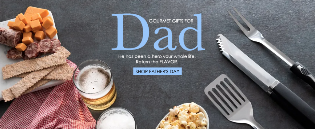 Gourmet Gift Baskets for Dad