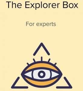 The Explorer Subscription Puzzle Box