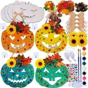 DIY Halloween Pumpkin Decoration