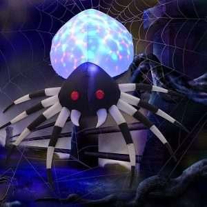 Halloween Inflatable Outdoor Spider