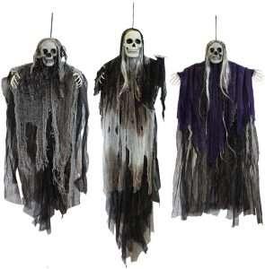 Hanging Halloween Skeleton Ghosts