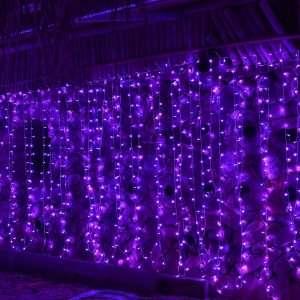 LED Curtain String Lights