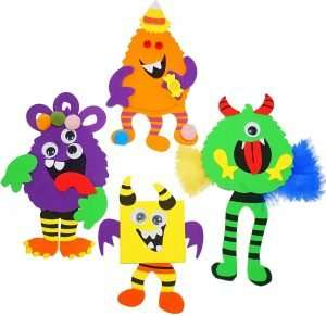 Novelty Halloween Crafts for Kids