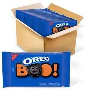Oreo Boo Orange Creme Chocolate Cookies