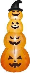 Stacked Pumpkins Halloween Inflatable