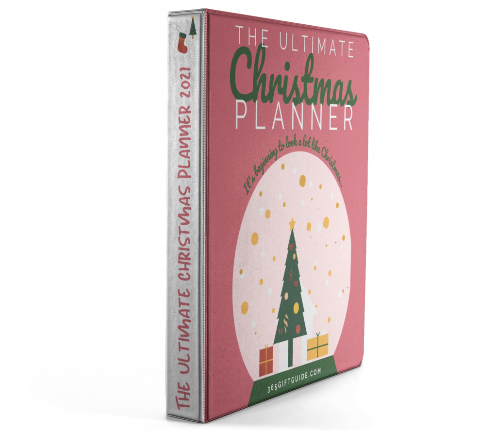 365 Gift Guide Ultimate Christmas Planner 2021 Binder Cover