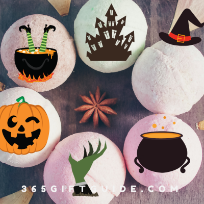 Spooky Halloween Bath Bomb Ideas